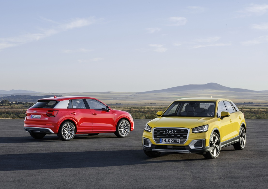 Urban Style – The young and assertive AudiQ2