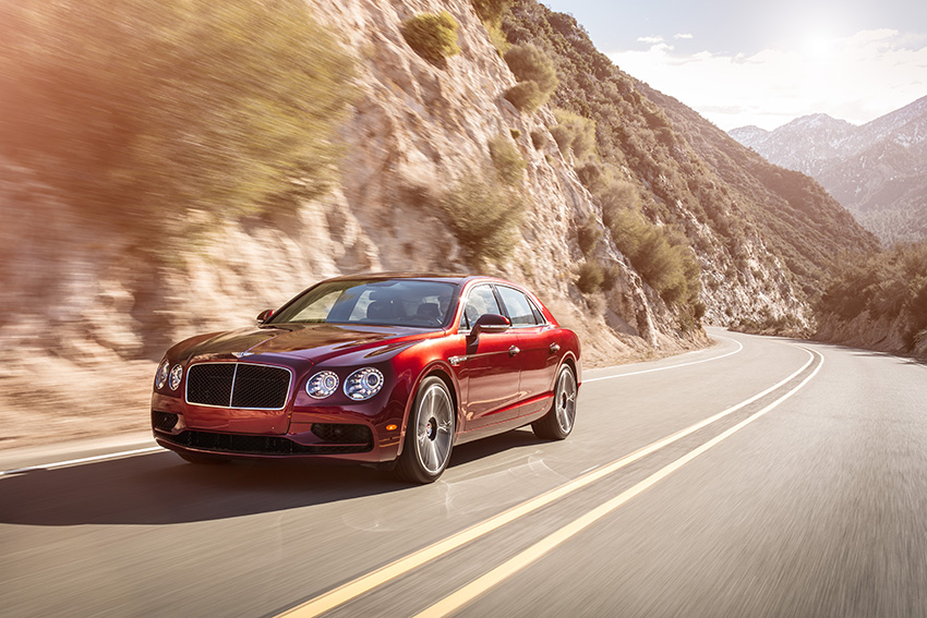 THE SPORTING SIDE OF LUXURY -BENTLEY FLYING SPUR V8 S