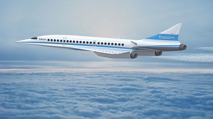 Flying made Easy – Boom Supersonic
