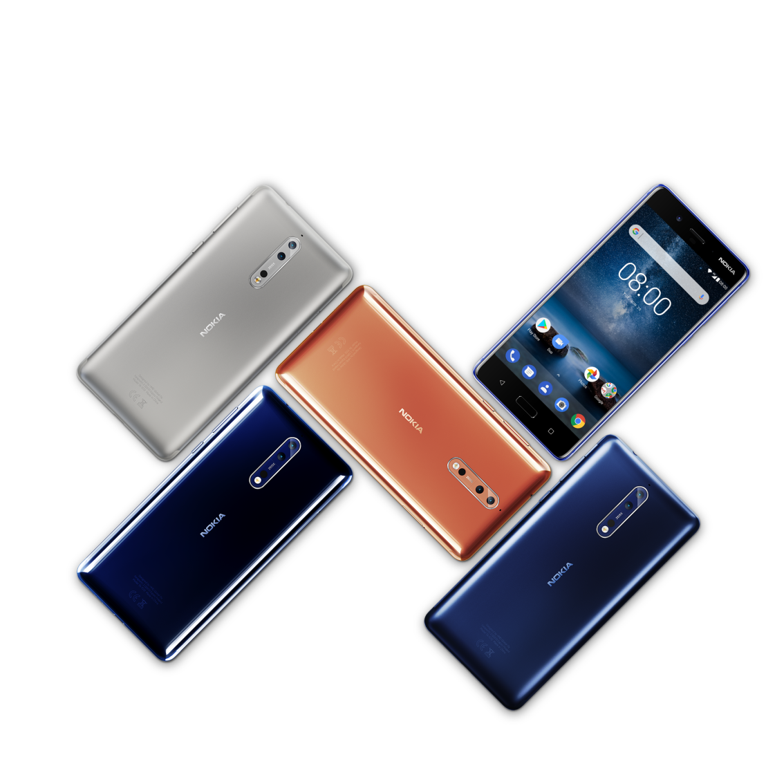 New Innovations and collaborations for Nokia8
