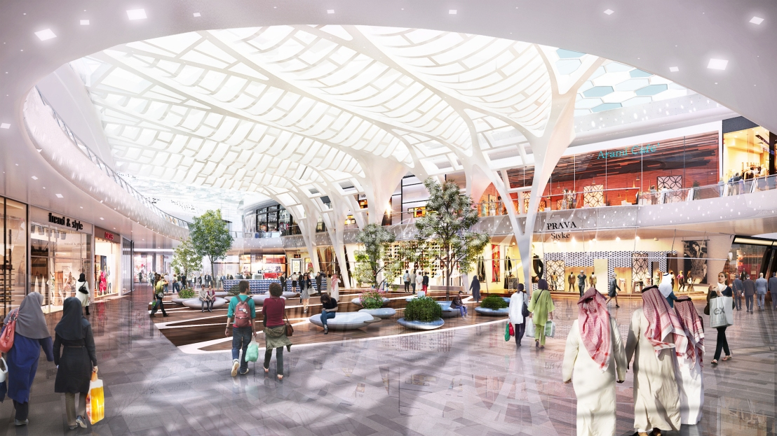 Expanding 145,502 sqm GLA Retail vistas in the UAE