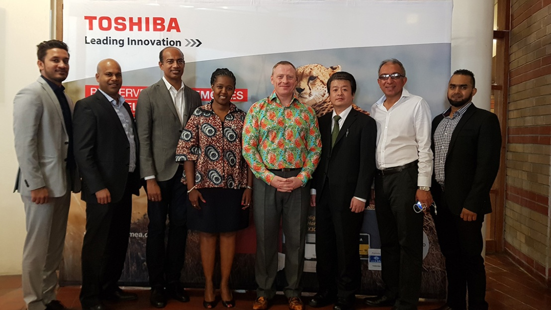 The Phenomenal Mastering Memory Roadshow Arrived in South Africa:  Preserving Memories with Toshiba