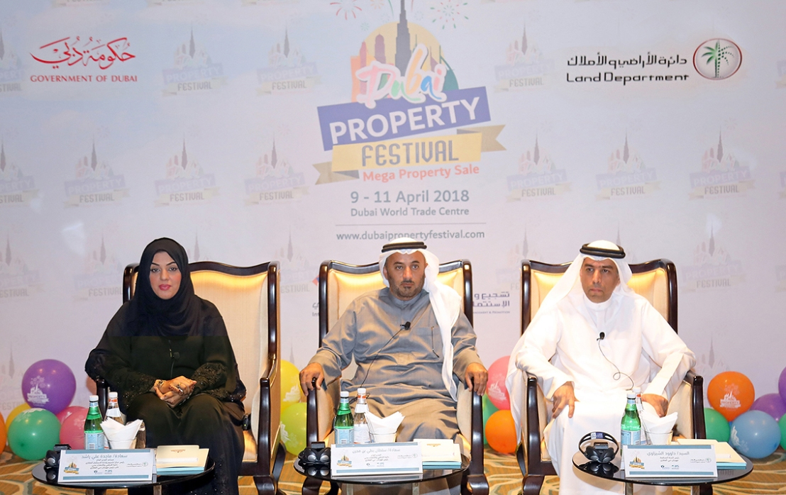 Dubai Land Department launches Dubai Property Festival to promote the sale of completed properties