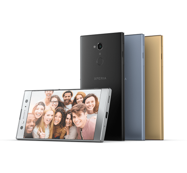 Sony Mobile Unveils New Selfie Smartphones: Xperia XA2 and Xperia XA2Ultra