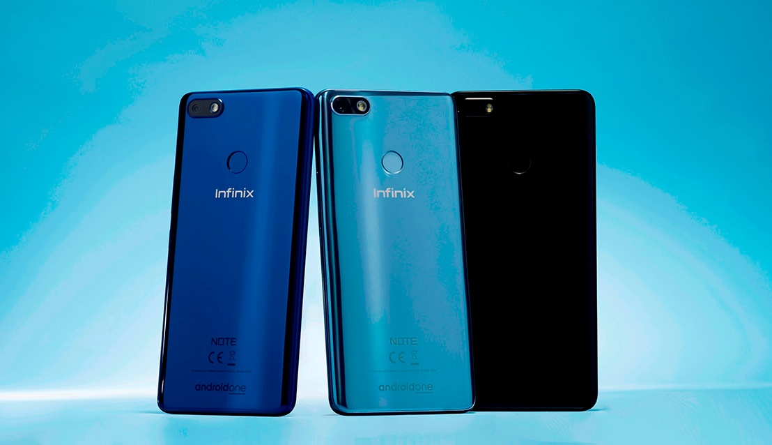 """INFINIX UNVEILS """"BEYOND INTELLIGENT"""" DEVICE NOTE 5 POWERED BY ANDROIDONE"""