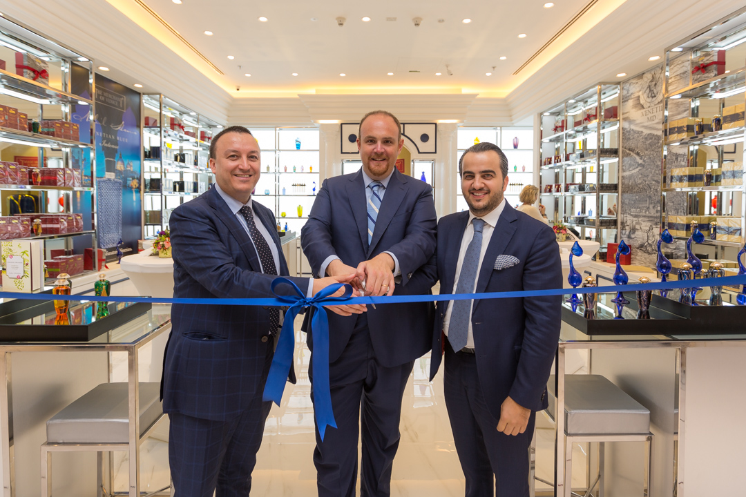 The Merchant of Venice Opens  First Boutique in the UAE at Dubai Mall