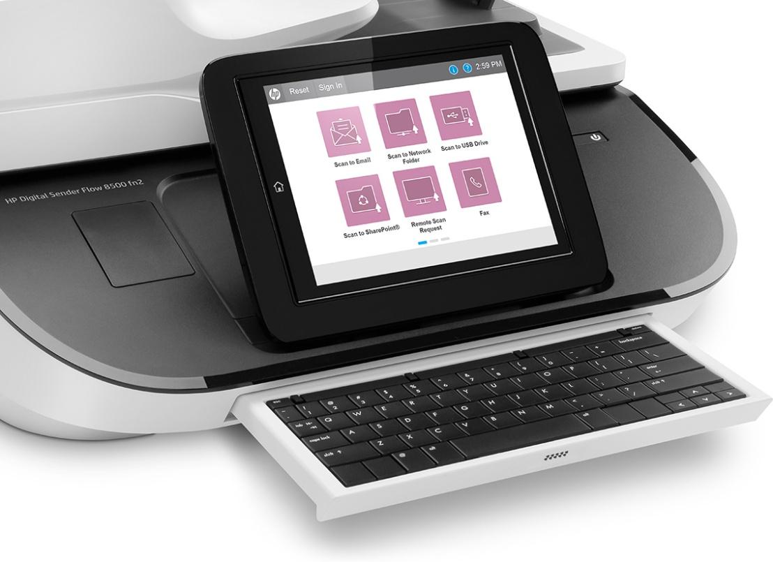 Transforming the way we work – HP Digital Sender Flow8500