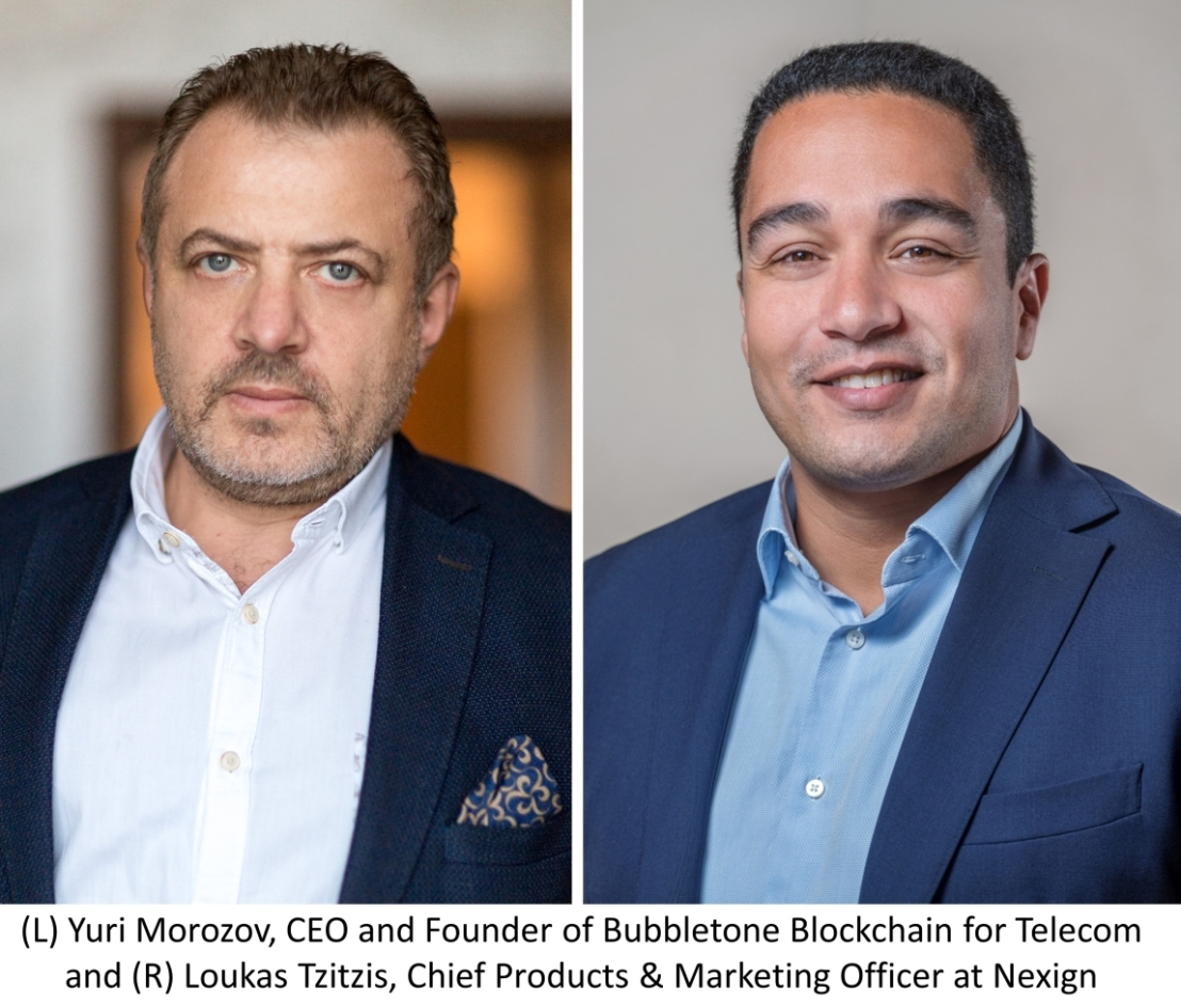 Nexign Partners with Bubbletone to Deliver Revolutionary Blockchain Solution for Telcos