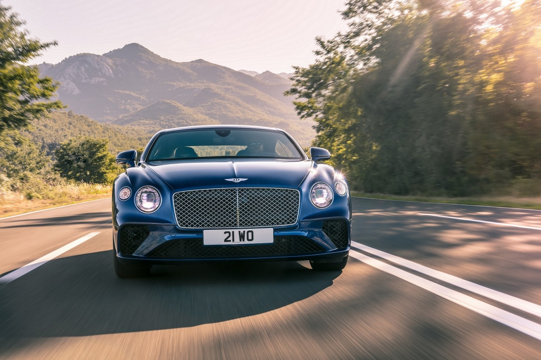 Luxury Grand Touring – The all-new continental GT
