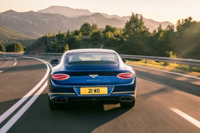 Image 2 - Bentley All-New Continental GT - Rear