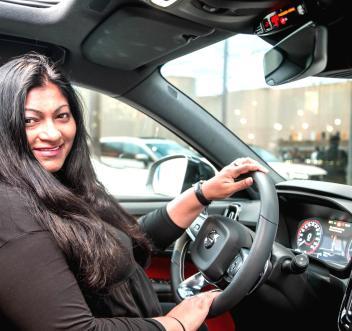 Shereen Shabnam Volvo XC40 J