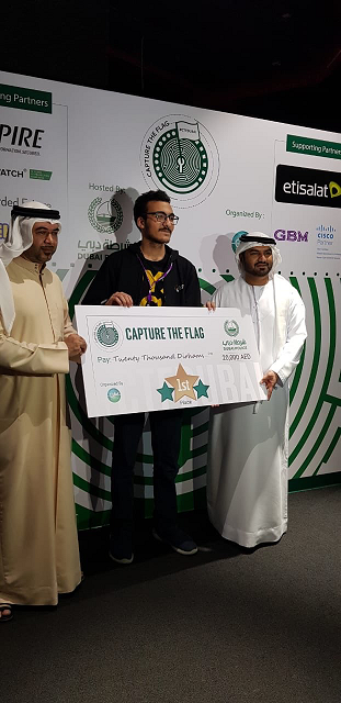 1st Winner Youssef Awad الفائز الأول يوسف عوض