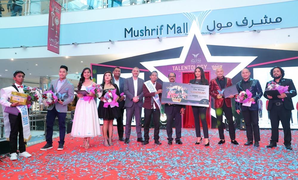 Mushrif Mall celebrates with Talentology 2019Winners