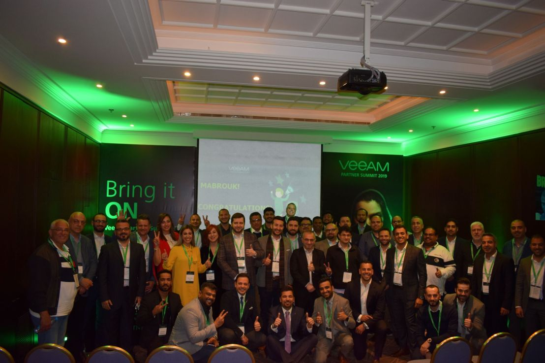 Partner Awards Announced: Veeam Honours Partners in Middle East