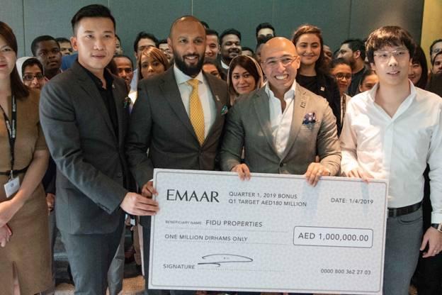 Emaar honours Fidu Properties with support andpartnership
