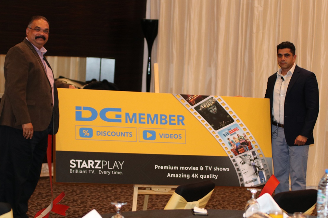 Middle East mega brands STARZPLAY and Sharaf DG enter partnership to offer free annual subscriptions to customers