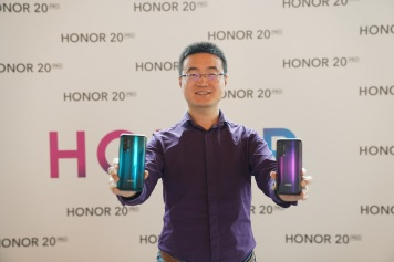 Chris Sun Baigong, President of HONOR MEA
