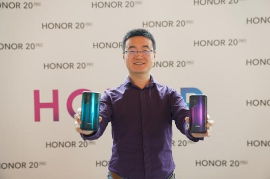 Chris Sun Baigong, President of HONOR MEA