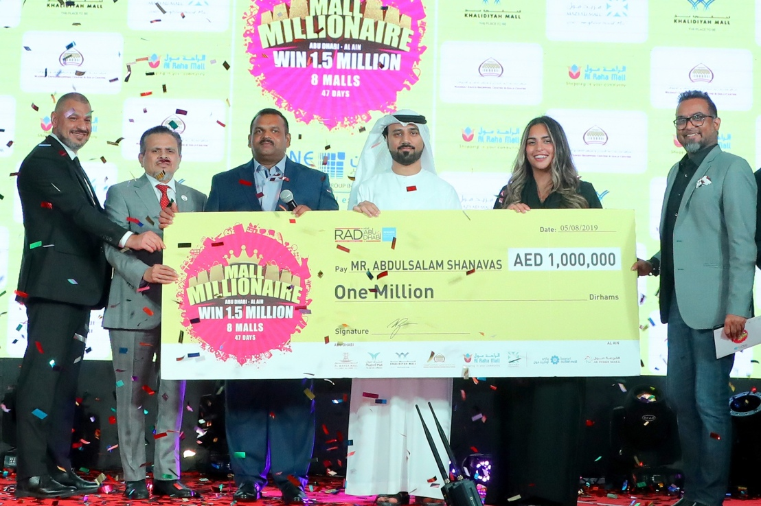 "Abu Dhabi expat becomes ""Mall Millionaire"" in Line Investments & Property LLC Malls summer campaign"