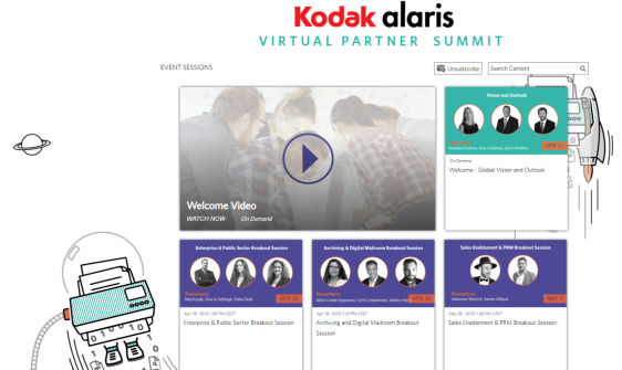Kodak Alaris Virtual Partner Summit 1